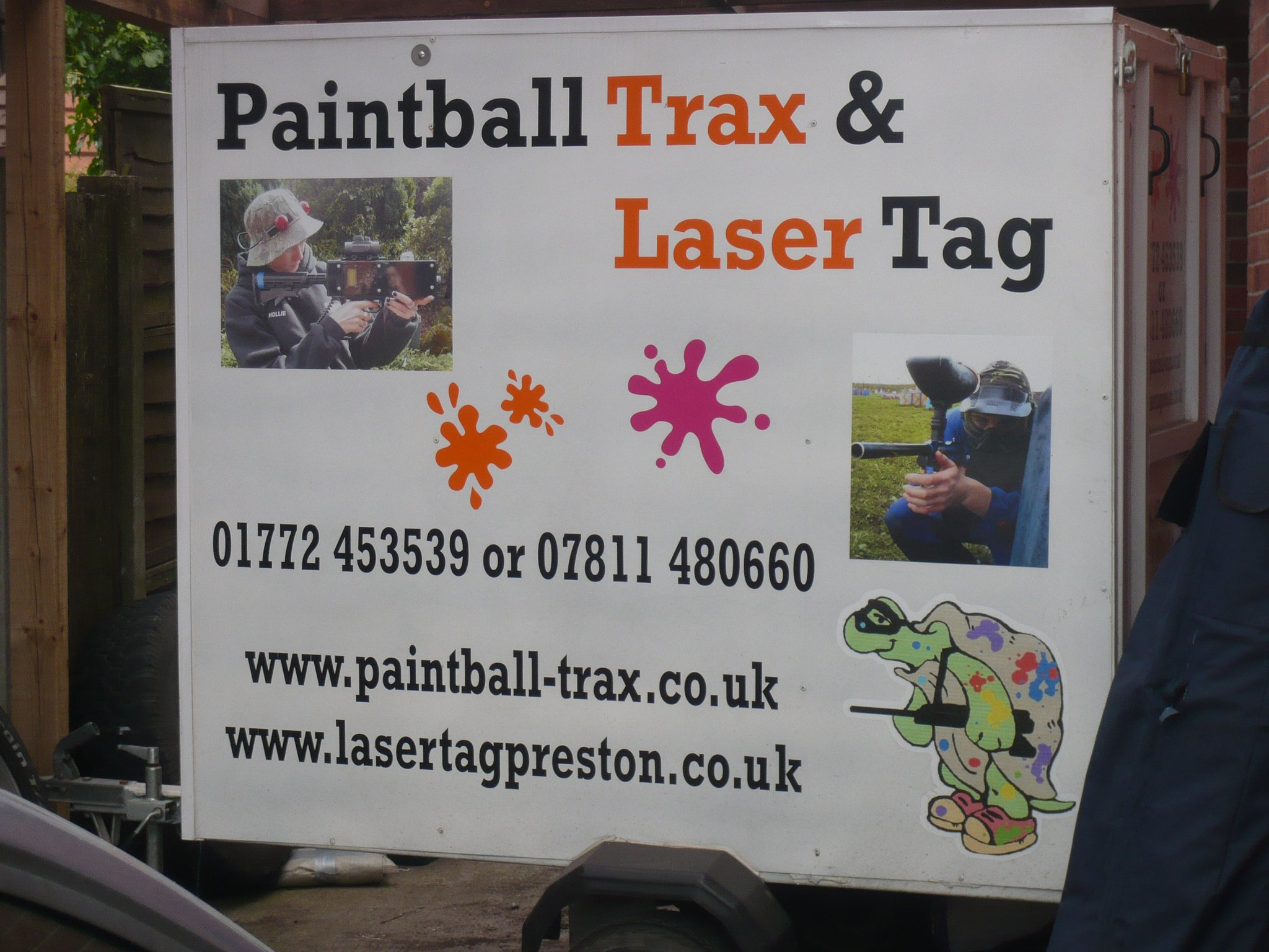 Paintball Trax and LaserTag Archery Rifle Range Midge Hall Lane Leyland Google Maps